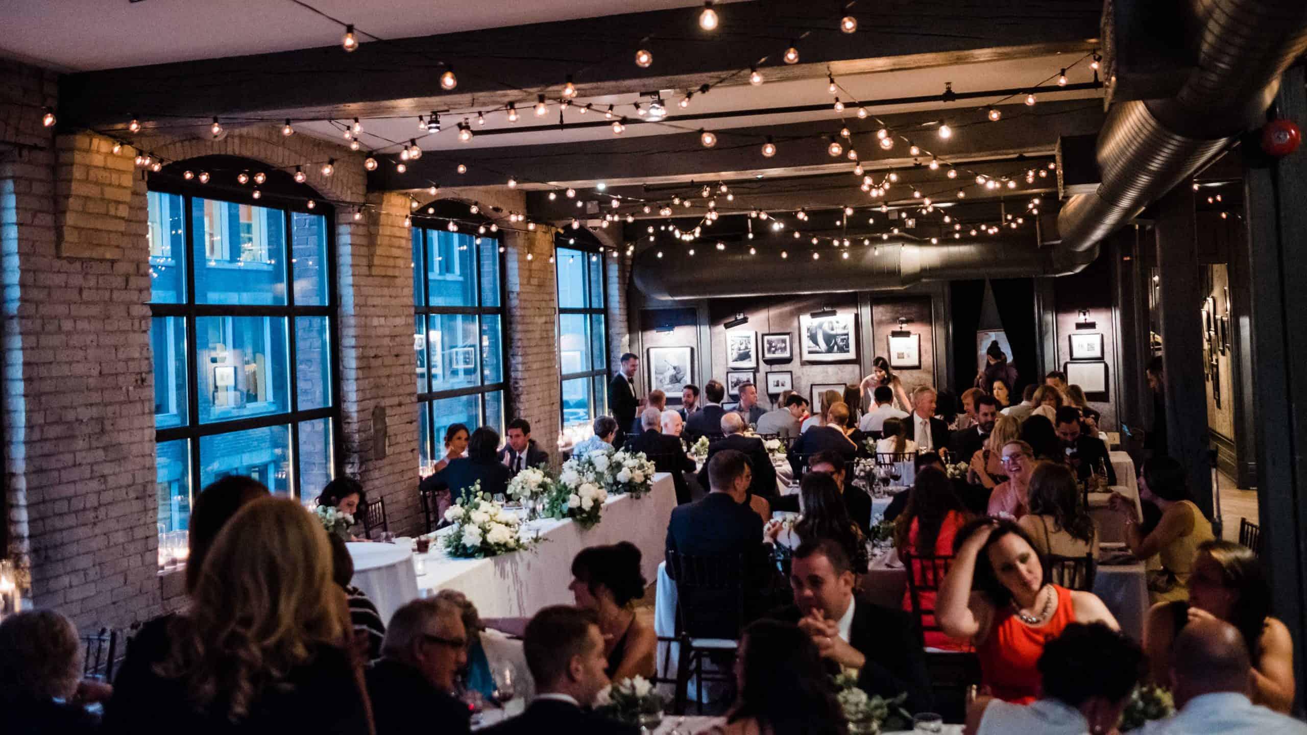 Toronto Wedding Venues Restaurants