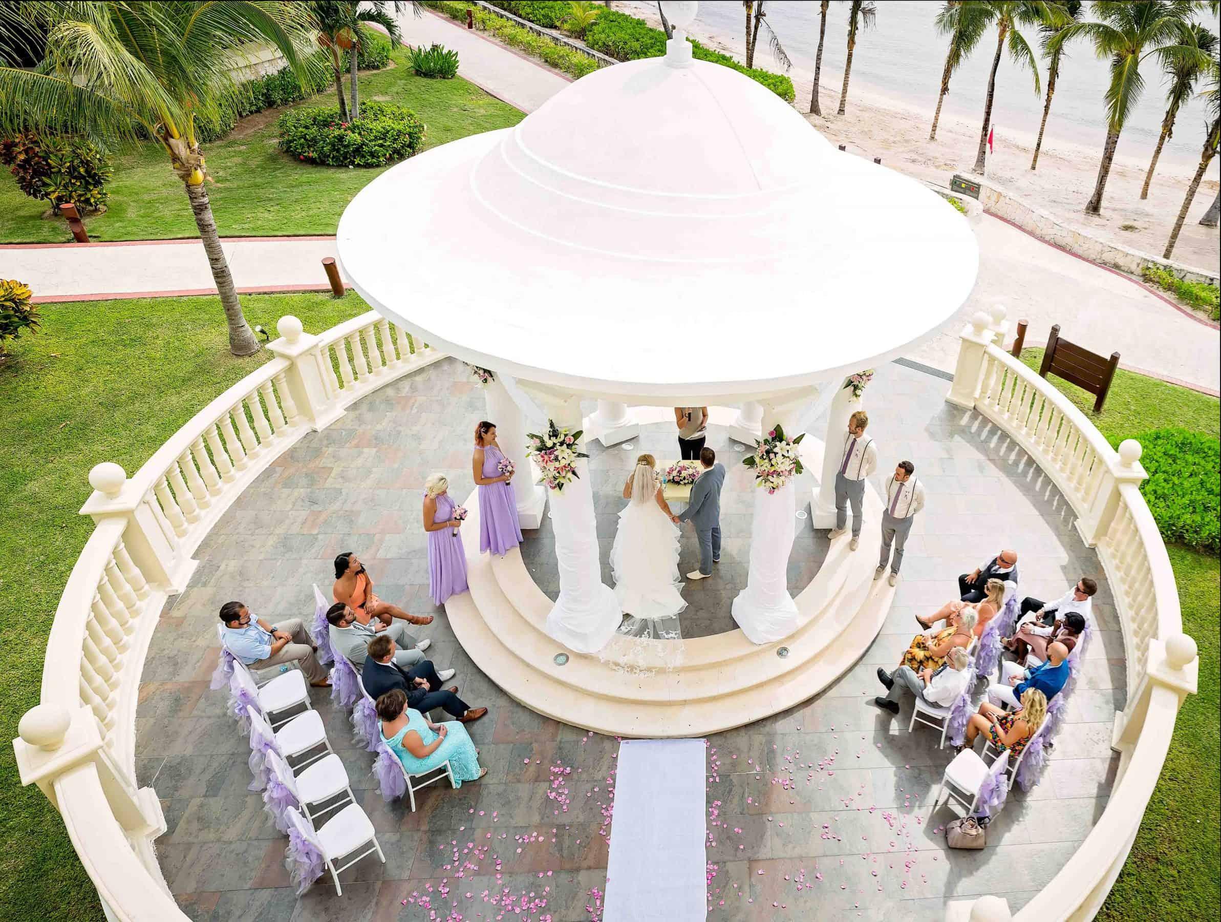 Wedding Ceremony at Barcelo Maya Palace